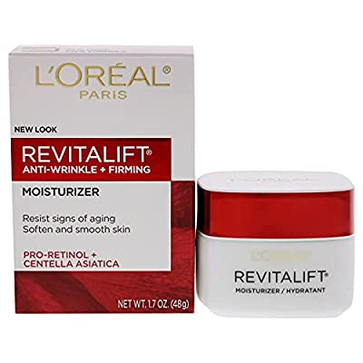 L'Oreal Paris Revitalift Face and Neck Anti-Wrinkle and Firming Moisturizer Day Cream, 1.7 Ounce by Everready First Aid