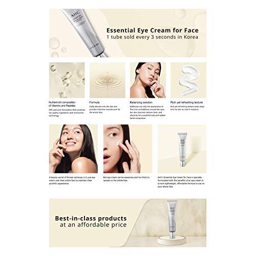 41Hl0ZStPrL - Aesthetic Hydration Cosmetics AHC Face Moisturizer Essential Eye Cream for Face Anti-Aging Hydrating Korean Skincare 1.01 oz