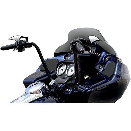 """Paul Yaffe 12/"""" Classic Bagger Apes Handlebars Harley FLHR FLTR Models Chrome"""