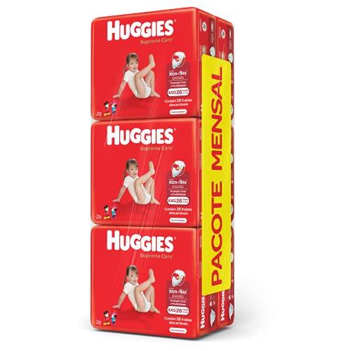 Fralda Huggies Supreme Care XXG - 156 unidades, Huggies