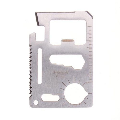 RoseBlue byRisa Tactical Mini Knife Card Life-saving Multifunctional Tool Card Outdoor Survival