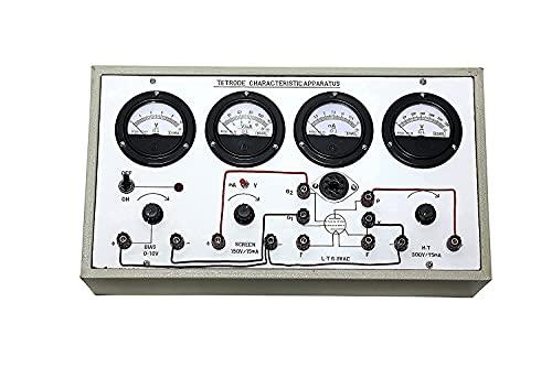 Tetrode Characteristics Apparatus