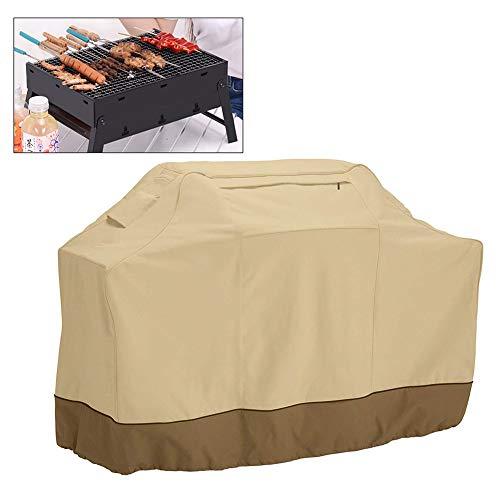 ZDYLM-Y Housse Barbecue Grill étanche Couverture, Air évents, poignées rembourrées, Cordon élastique Hem, Grill Barbecue Couverture avec Tissu résistant aux intempéries,64 * 24 * 48in