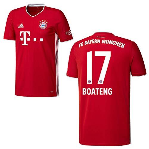 adidas Bayern Trikot Home Herren 2021 - Boateng 17, Größe:S