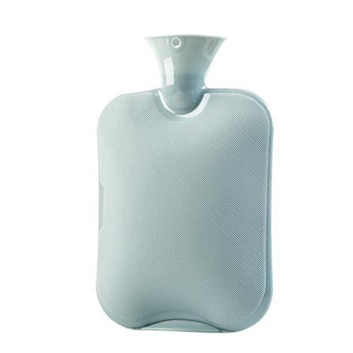 GYQYYGZ Botella de Agua Caliente La Bolsa de Agua Caliente Duradera, PVC Bolsa de Agua con Cubierta de Punto, for Mantener el Calor en Invierno, Conveniente for cumpleaños portátil bols