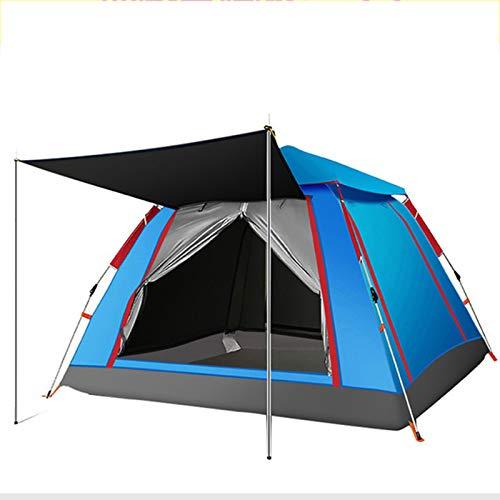 LYZL Easy Tent Pop Up Beach Sun Shelter Tent Tienda De Campaña Portátil para Acampar,Azul,84 * 84 * 55in