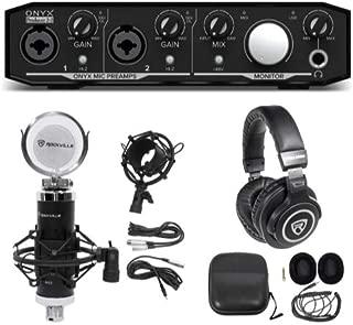 Mackie Onyx Producer 2.2 USB Audio Recording Interface+Studio Mic+Headphones