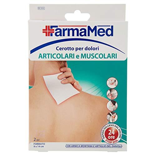 FarmaMed 2 parches para dolores articulares y musculares.