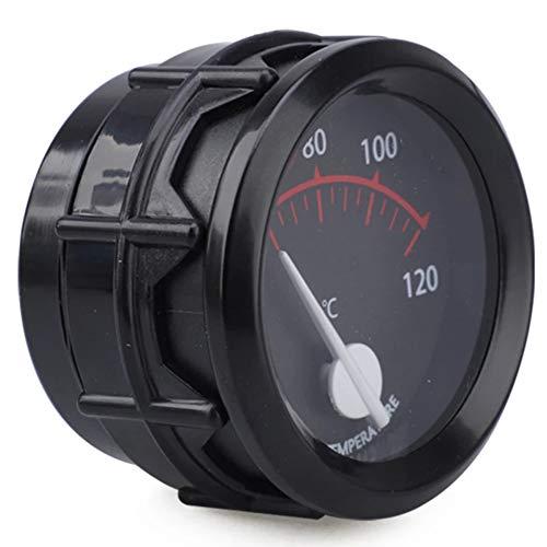 iSpchen Reloj digital Táctil Para Automóvil de 12 V / 24 V Con Pantalla Led Verde Reloj Led Adecuado Para Barco, Motocicleta, Coche