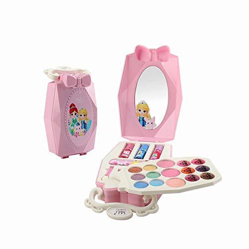 GoolRC Trucco Realistico (Lavabile) Trucchi Bambina Set di Cosmetici per Bambini Trucco Ragazza Giocattolo per Bambini ¡