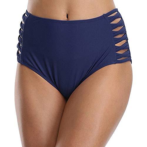 UMIPUBO Braguitas Braga de Bikini Traje de baño Bañador Bikini Bottom Mujer Traje de Baño Bikini Short de Cintura Alta Baja Sexy Bañarse Playa Ropa