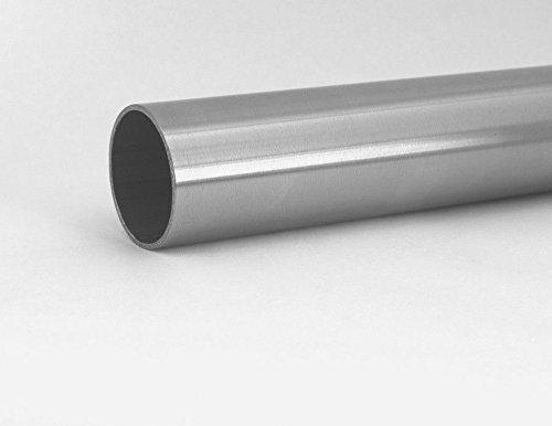 Edelstahlrohr 25 x 2 mm V2A Rohr VA Rundrohr Edelstahlrundrohr Edelstahl Rohr 150 cm