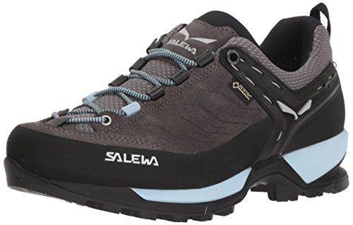 Salewa Damen WS MTN Trainer GTX Trekking- & Wanderhalbschuhe, Grau (Charcoal/Blue Fog), 41 EU