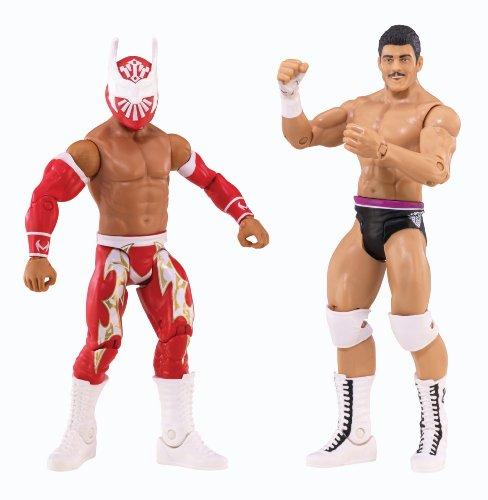 WWE CODY RHODES vs SIN CARA BATTLEPACK FIGURES