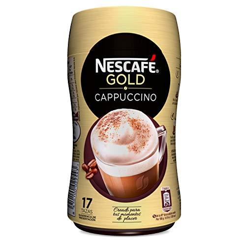 NESCAFÉ Café Cappuccino | Bote | 5 Botes de 250g de café - Total: 1,25Kg