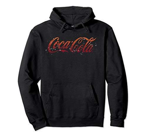 Coca-Cola Splatter Logo Pullover Hoodie