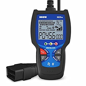 INNOVA 3020RS Code Scanner - Professional OBD2 Scanner - Emission Test Scan Tool - ABS - RepairSolutions2 App - Check Engine Light Code Reader