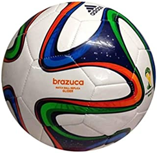 adidas Brazuca Glider - Balón de fútbol, Talla 5: Amazon.es ...