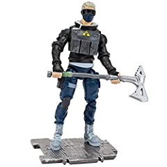 The Verge 4-inch action figure has 25+ points of articulation and highly detailed decoration inspired by one of the most popular outfits from Epic Games' Fortnite. Verge is equipped with the Clean Cut harvesting tool, ready for action. Stone building...