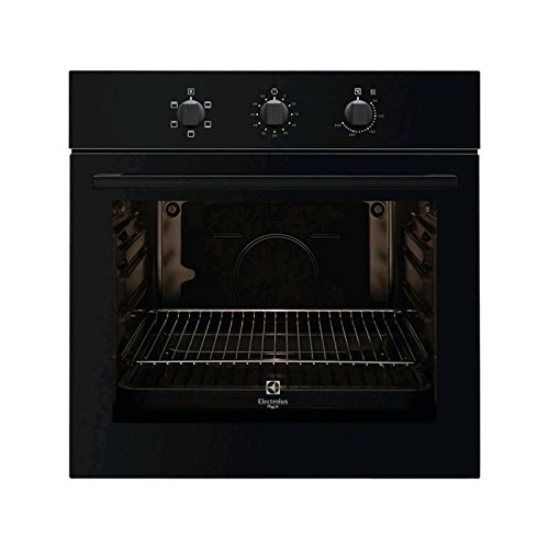 Electrolux Rex FQ13N - ovens (Built-in, A, Black, Rotary, Front, Mechanical)