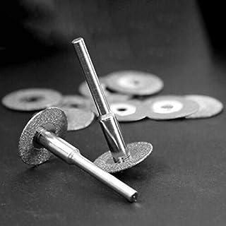 YUQIYU 10st diamantslipning Off Disc Saw Blades Slipskiva för Rotary Kit
