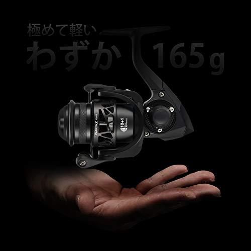 ピシファン(Piscifun)スピニングリールCarbonX1000Sカーボン製超軽量165gギア比5.2:110+1BB左右交換可能