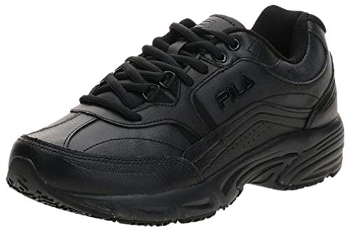 Fila Women's Memory Workshift Cross-Training Shoe,Black/Black/Black,9 M US