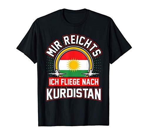 Kurdistan Urlaub Reise Kurde Kurdisch Lustig T-Shirt