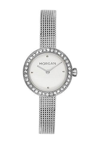 MORGAN Reloj Fecha Standard para Mujer de Cuarzo con Correa