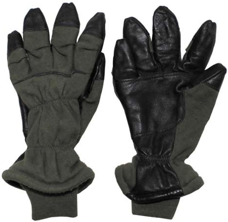 US Fingerhandschuhe, oliv, gefüttert, 'NOMEX', gebr.