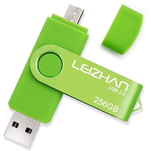 LEIZHAN USB Memory Stick 2.0 OTG Metal Pendrive para Android Smart Phone...