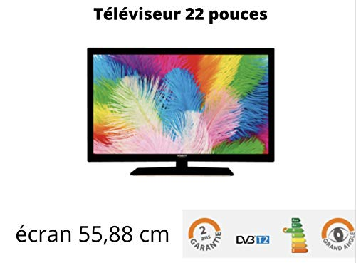 ANTARION TV + LED 22' HD 12V/24V /220V Camping Car y Camión