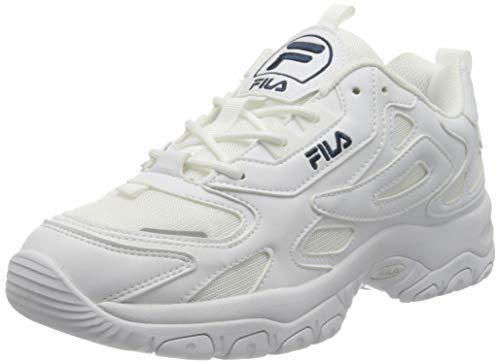 FILA Eletto men zapatilla Hombre, blanco (White), 46 EU