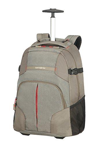 Samsonite Rewind Wheeled Laptop Backpack, 55 cm, 33 L, Schwarz