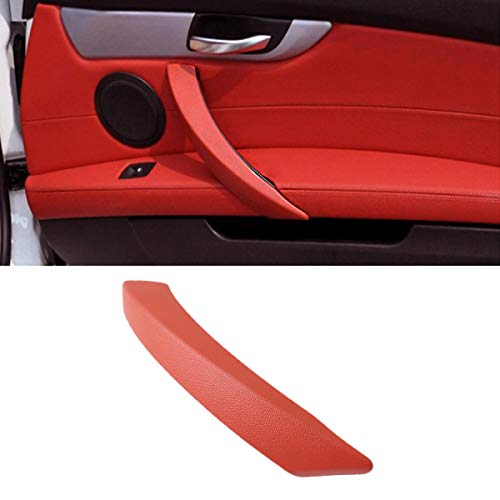 Jaronx for BMW Z4 Door Handle Outer Cover,Passenger Side Door Handle Outer Cover Replacement Door Panel Armrest Handle for BMW Z4 E89 18i/20i/23i/28i/30i/35i/35is, Roadster,2008-2016(Red Wine)