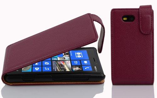 Cadorabo Funda para Nokia Lumia 820 in Burdeos Violeta - Cubierta Proteccíon...
