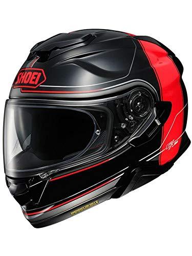 Shoei Casco Moto Gt Air 2 Crossbar Tc1 Rojo (L, Rojo)