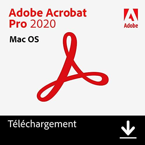 Adobe Acrobat | Pro | 1 Usager | Mac | Code d'activation Mac - envoi par email