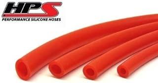HPS HTSVH4-BLKx25 Black 25 Length High Temperature Silicone Vacuum Tubing Hose 60 psi Maxium Pressure, 5//32 ID