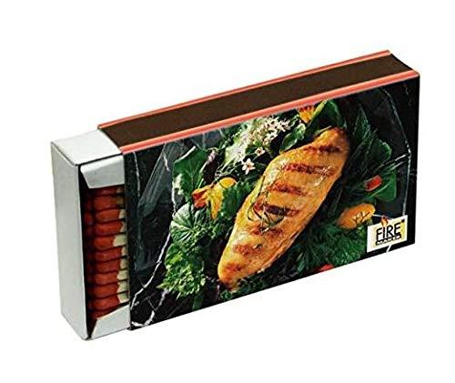 41HlD4UIlEL - Km Art. 905 Kombi-Paket Grillen - 3X Einweggrills 365 + 1 Schachteln Zündhölzer 1523