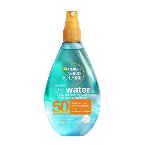 AMBRE SOLAIRE - Uv Water Spray Biphase Ip50 150Ml - Lot De 2 - Livraison Gratuite