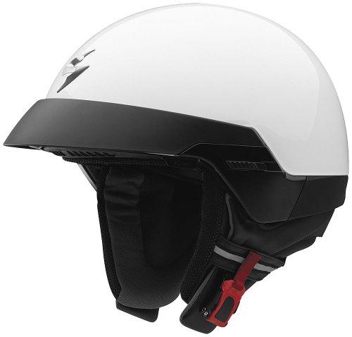 Scorpion, Klapphelm mit abnehmbarem Helmeinstieg und externem Visier. 62 Bianco 08-100-05-06 transparent xl
