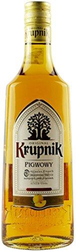 Krupnik Pigwa | Krupnik Quitte | Polnischer Geschmackswodka/Likör | 32%, 0,5 Liter