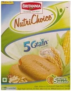 Britannia Nutrichoice Biscuits 200g 5 Grain