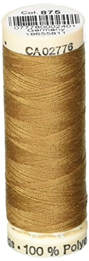 Gutermann Sew-All Thread 110 Yards-Goldstone (100P-875)