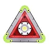Advertencia LED luz del Coche, triángulos de señalización a Prueba de Agua lámpara de Emergencia