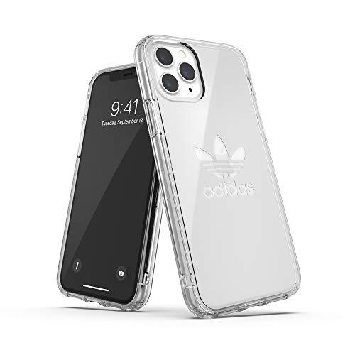 adidas Originals Kompatibel mit iPhone 11 Pro Hülle, Großes Logo Druck Transparente schützende Handyhülle - Transparent