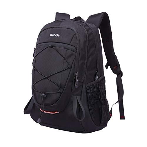 Zeewoo 40L Mochila Hombre Senderismo Deporte Viaje Grande Trekking Mujer Trabajo Casual Backpack Antirrobo Impermeable Camp Caminata Portátil Bolsa Mochila, Negra ⭐