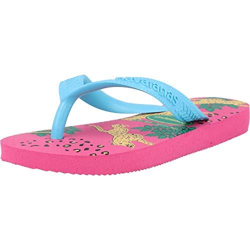 Havaianas Kids Top Fashion Rosa (Pink Flux) Caucho 33/34 EU