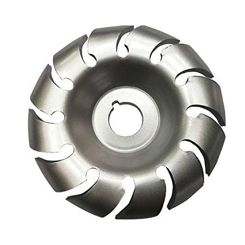 Disco de molienda de madera Disco de amoladora angular Disco de talla de madera 12T Herramienta de trabajo de madera de acero al manganeso para disco de amoladora angular de 100 mm # 3,65-16 mm, China